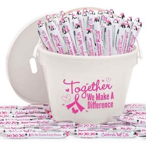 Breast Cancer Awareness 150-Piece Stylus Pen Fundraising Kit