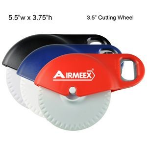 Large Pizza Cutter w/ Bottle Opener