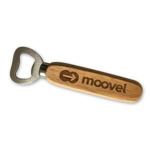 Laser Engraved Wood Bottle Opener